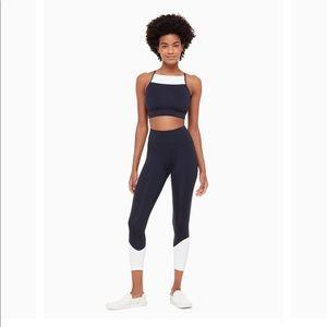 0ce7eaca9afad kate spade Pants - Kate Spade NWT Colorblock Leggings yoga pants navy